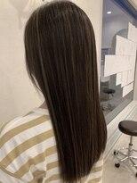 ヘアーサロン リアン 熊谷2号店(hair salon Rien)ストレートでも綺麗なハイライトカラー