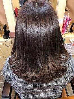 ヘアーズ フェミニン 中山店(Hair's Feminine)の写真/今話題の「髪質改善トリートメント」!取り扱いの希少サロン☆内側から輝く美しい髪に♪