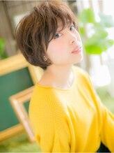 カバーヘア ブリス 上尾店(COVER HAIR bliss)*+COVER HAIR+*…甘辛☆カジュアルショートa