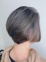 リアンフォーヘアー(Lien for hair)寒色系デザインカラー