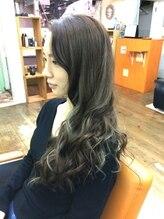 ヘアースペース 松戸店(hair space COCO)イルミネージュアッシュロング