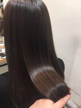 髪質改善サロン ミューズ 一社店(MUSE)の写真/【一社駅徒歩2分/駐車場有】縮毛矯正ならミューズにお任せ♪あなたの雰囲気を活かし自然な仕上がりに☆