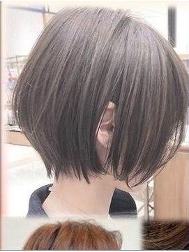 ボブ 前 下がり ボブの髪型3種類!切りっぱなし・前下り・前上がりのヘアスタイル [ヘアスタイル・髪型]