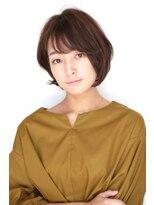 ヘアーメイク リアン 新田辺店(Hair Make REAN)◆REAN 京田辺/新田辺◆ツヤ感重視の耳かけショートスタイル