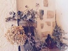 オッジ 六本松店(oggi)の雰囲気(所々に植物や器など、さりげないこだわりの小物たちもたくさん)