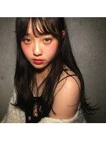 フェス カットアンドカラーズ(FESS cut&colors)黒髪は前髪が決め手!【福岡美容室FESS】