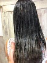 アンフィフォープルコ(AnFye for prco)【AnFye for prco】ブルージュグラデ × 艶髪スタイル