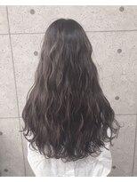 アールプラスヘアサロン(ar+ hair salon)ハイライト×シアーグレージュ