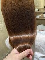 サロンドミルク 原宿(salon de MiLK)艶々ナチュラルカラー 髪質改善
