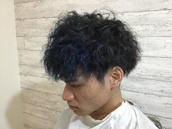 ヘアーデザイン キューブ(hair design cube)の写真/《三原/中之町》メンズにも大人気のマンツーマンサロン☆スタイリングが簡単になる最旬パーマがおすすめ◎