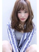 アフェクト 池田(affect)【affect】ランダムカールの小顔ミディアムパーマ