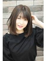 エピス 麻生1号店(epice)黒髪【大人かわいい】ナチュラルボブ