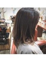 ヘアー コパイン(HAIR COPAIN)[熊本/中央区/上通り/並木坂] ハイライト×グラデーション