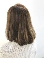 フレイムスヘアデザイン(FRAMES hair design)ふんわりワンカールセミディ