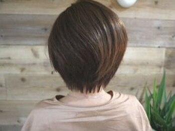 レアヘアー(Le'a hair)の写真/【藤井寺駅徒歩3分】ショートヘアでイメチェンするならココ!経験豊富なスタイリストが在籍☆
