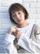 ヘアーサロンデルミック(hairsalon de LUMIC)【LUMIC】横顔美人小顔外ハネボブ