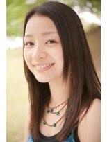 ソラ ヘアデザイン(Sora hair design)ボリュームを抑えたナチュラル縮毛矯正