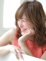 ピノ ウメダ(Pinot UMEDA)フォートレス大人女性☆クリアアッシュ☆美肌斜めバンク