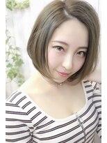ピースナンバ(PEACE NAMBA)ふんわりレイヤーボブ/美女髪王子★シータ