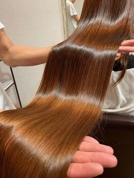 チアフル(Cheerful)の写真/【サイエンスアクア公式認定サロン】ダメージでお悩みの方に◎『髪質改善』で健康的なうるツヤ美髪へ♪