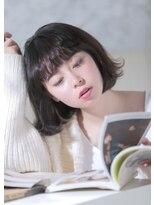 オゥルージュ(Au-rouge noma)【aurouge noma 柳瀬香里】小顔フェザーボブ×柔らかグレージュ