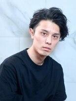 オーブ ヘアー トーキョー 銀座3号店(AUBE HAIR tokyo)【AUBE HAIR】かき上げ前髪×パーマ