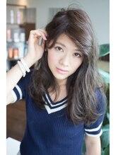 ライズミィーノ(RISE Miino)~ヌーディ―アッシュ ゆる巻きロング~