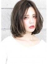ヘアサロン ガリカ 表参道(hair salon Gallica) 毛束感 × グレージュ ☆ ワンカールボブ 小顔 デザインカラー