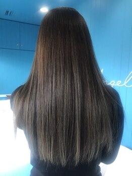 アンジェリコ(Angelico)の写真/ハリ/艶/コシUP!地肌ケアに特化した厳選トリートメントで、カラーも長持ちする健康美髪へ♪