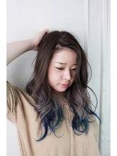トリプルエイチ(HHH for hair)インディゴブルー☆グラデーション