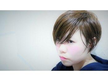 ヘアーアートスパミニマム(HAIR ART SPA MINIMUM)の写真/《今年はやっぱりショート☆》透け感のあるトレンドショートで大人の色気を演出♪冬服にショートが合う◎