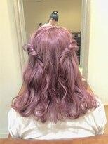 ミエルヘアーアンドスパ(miel hair&spa)◆miel◆ ミルキー ピンクアッシュ *