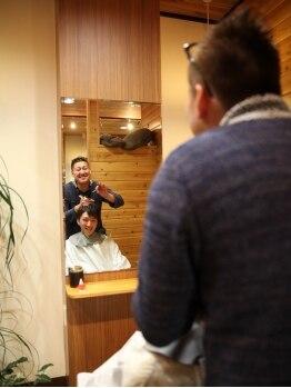 トゥイークヘアーファクトリー(tweak hair factory)の写真/お客様に寄りそったおもてなし&カウンセリングで見極めを…。あなたに「似合う」スタイルを引き出します!