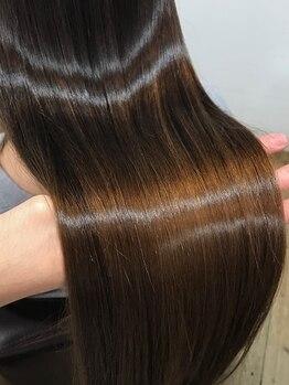 チアフル(Cheerful)の写真/蓄積されたダメージでパサついた髪にもエイジング毛にもオススメ◎憧れのツヤ髪は『髪質改善』で叶う☆