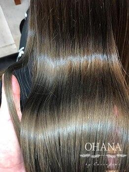 カルフール オハナ せんげん台西口店(Carrefour OHANA)の写真/【奇跡の髪質改善】が人気!髪質に合わせてその場で調合する生トリートメント◎プレミアム髪質改善も人気♪
