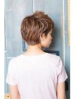 アルファ インタラクティブ エム フラワー(ALUFA interactive.M Flower)ナチュラル耳かけショートヘア