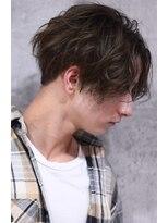 エイチ(H eitf)H*かき上げヘア『スパイラルパーマ』tatsuya ツーブロック