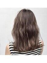 アリーズヘアー 青山(allys hair)グレージュ × ハイライトカラー◇フェアリー ウェーブ