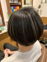 テトラ ヘアー(TETRA hair)ショート×ハイライト2