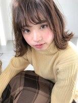 ラフィネ(raffine)可愛い女子に人気のレイヤー切りっぱなしボブ☆raffine中村大輔