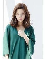 ルーチェ 府中(Luce)簡単スタイリング30代40代大人かわいいグレージュパーマ☆
