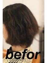 シェモア(Chez Moi)デジタルパーマによるビビリ毛でお悩み