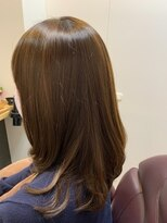 ヘアーカルチャー おゆみ野店(HAIR CULTURE)髪質改善!毛先まとまるセミロング♪