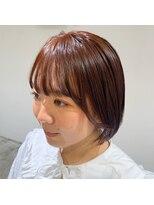 ヘアーアイストゥーレ(HAIR ICI TRE)オレンジ カラー オレンジブラウン