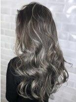 【AUBE HAIR】ローバレイヤージュ_ウェーブフォギーパーマ