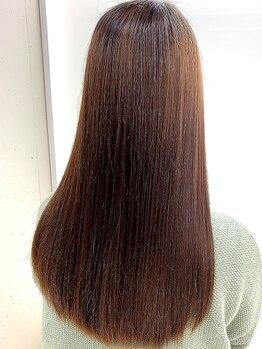 """スタジオ ヴォー(studio VO)の写真/理想のヘアスタイルに合わせて""""最善""""を提案。話題の【酸熱トリートメント】や【縮毛矯正】でなめらかな髪に"""