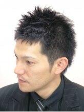 髪工房ウエムラ(UEMURA)スライドカットのクールビズヘア