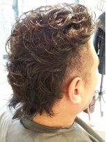 ヘアーアトリエ ラポルト(hair atelier la porte.)メンズパーマスタイル