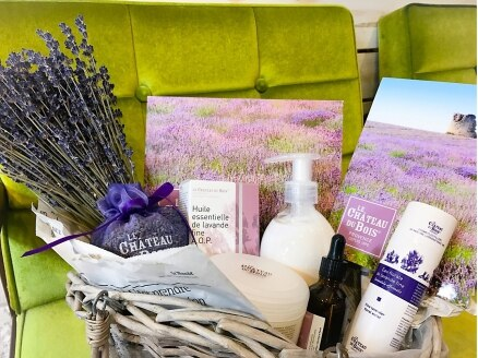 ヘアーアンドリラックス ソファ(hair&relax sofa)の写真/新商品【LE CHATEAU DU BOIS-シャトデュボワ】導入!鎮静効果もあるラベンダーの香りは心も身体も癒される◎