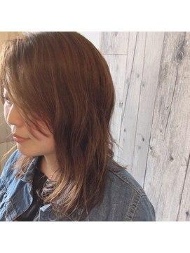 ルアナヘアーアンドスパ(Luana hair&spa)ミディアムヘア